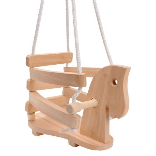 houten schommel paard
