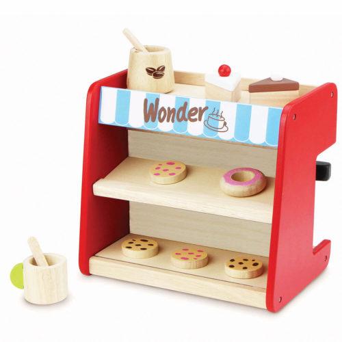 espresso apparaat display Sassefras Meisjes Speelgoed