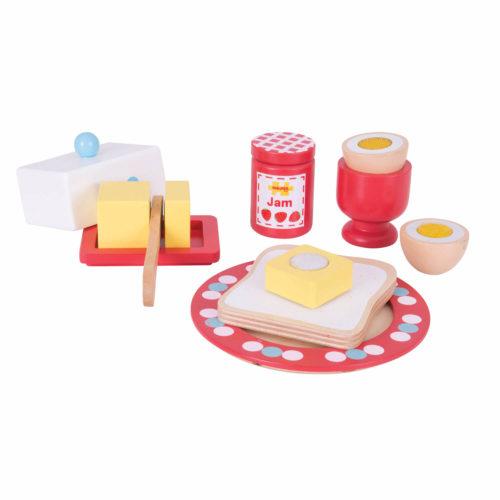ontbijtset 1 Sassefras Meisjes Speelgoed