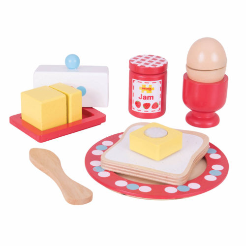 ontbijtset 2 Sassefras Meisjes Speelgoed
