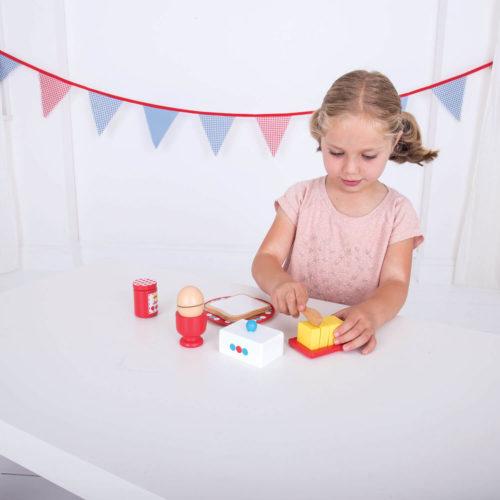 ontbijtset spelen Sassefras Meisjes Speelgoed