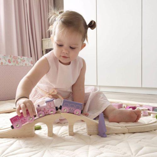 bigjigs treinset spelend kindje Sassefras Meisjes Speelgoed