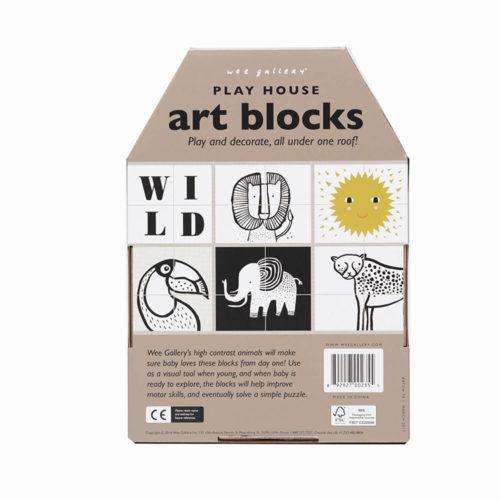 play house art blocks wild achterkant