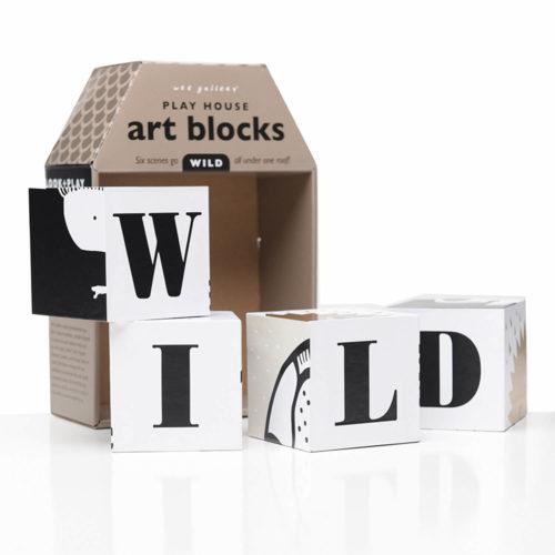 play house art blocks wild uit doos