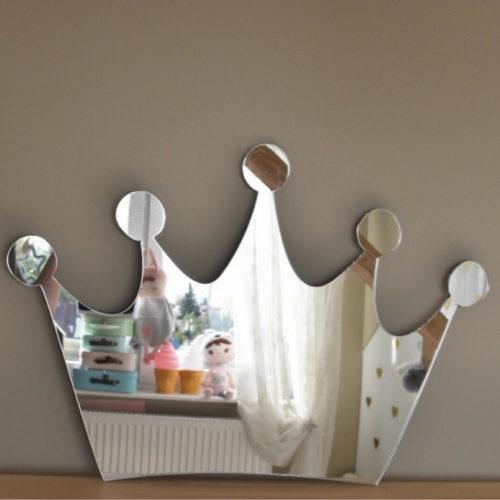 prinsessen kroon spiegel Sassefras Meisjes Spiegel