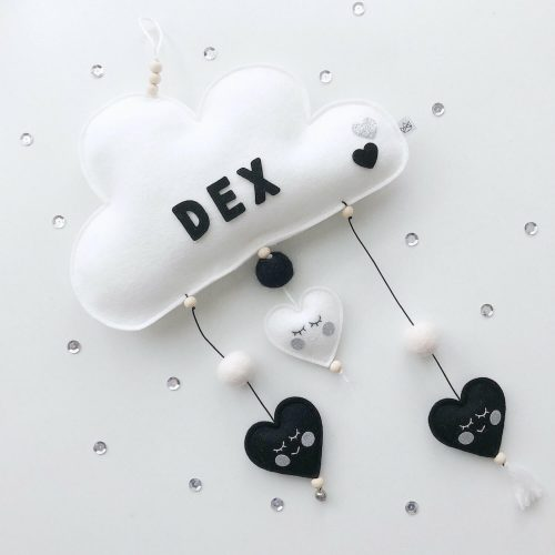 vilten naam mobiel wolk monochroom scheef Sassefras Meisjes Speelgoed