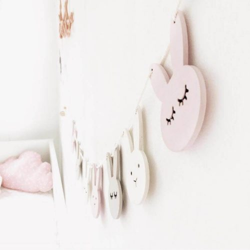 houten konijntjes slinger Sassefras Meisjes Speelgoed