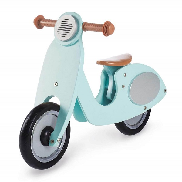 speelgoed voor buiten en binnen houten loopfiets scooter - sassefrasmeisjesspeelgoed